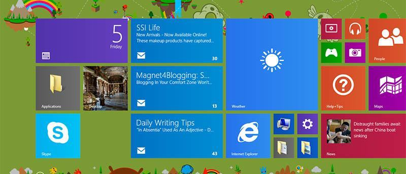How to Use Different Live Tiles for Multiple Emails in Windows 8.1 Mail App