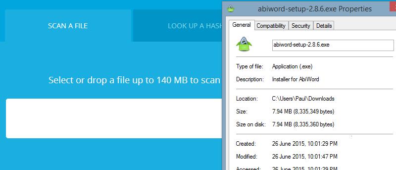 Antivirus Scanning Websites