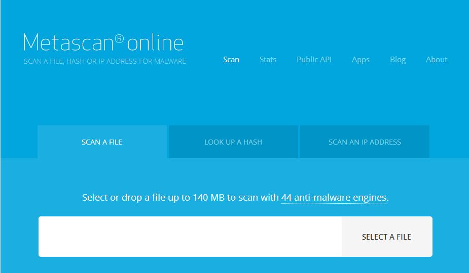 Vir-Metascan-Homepage