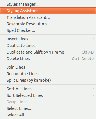 aegisub-subtitles-menu