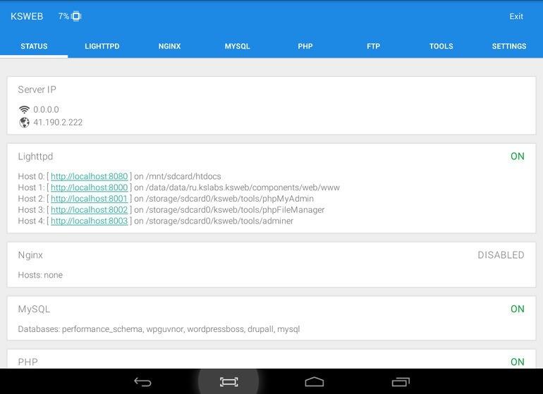 android-dev-tools-ksweb