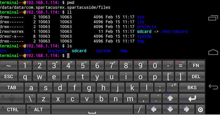 android-dev-tools-terminal-ide