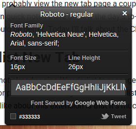 chrome-dev-whatfont