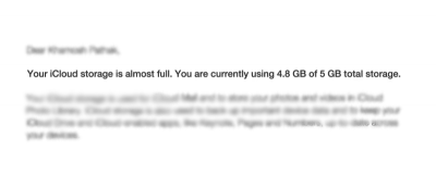 Getting 'iCloud Storage Is Almost Full?' Here's How to Free Up Space