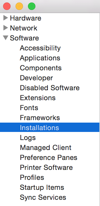installinfo-installations