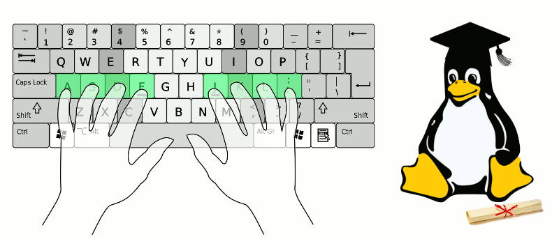 Learn with Linux: Learning to Type