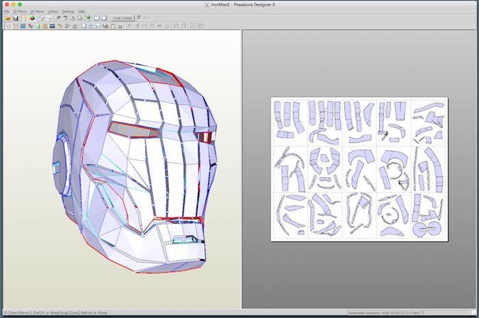 pepakura-iron-man-mask