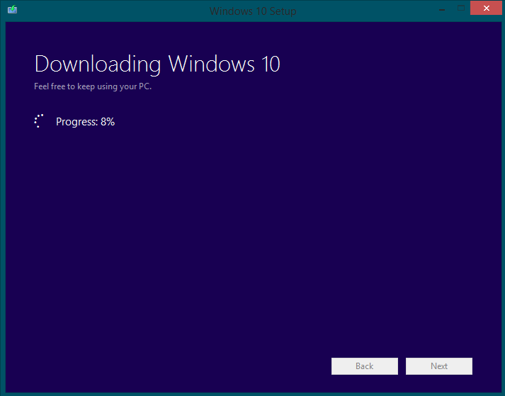 windows 10 boot disk - installation step 5