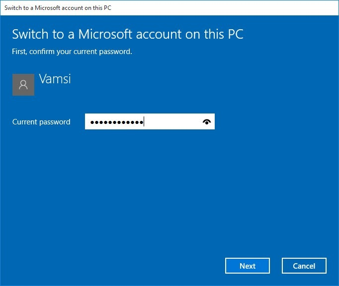 windows10-cortana-enter-local-password