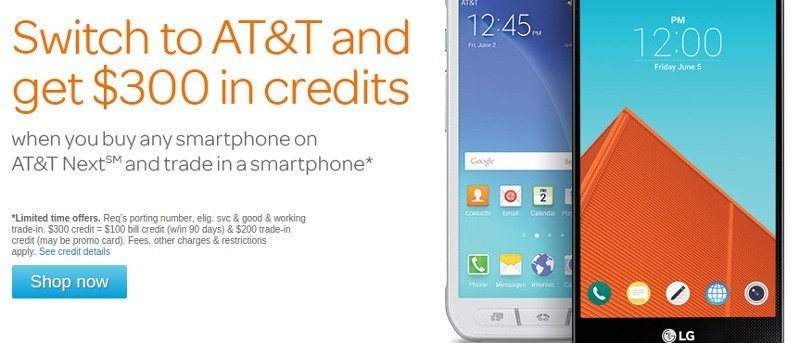 Switch to AT&T and Get $300 in Credits When You Trade in Your Smartphone
