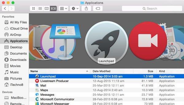 Launchpad-Icon