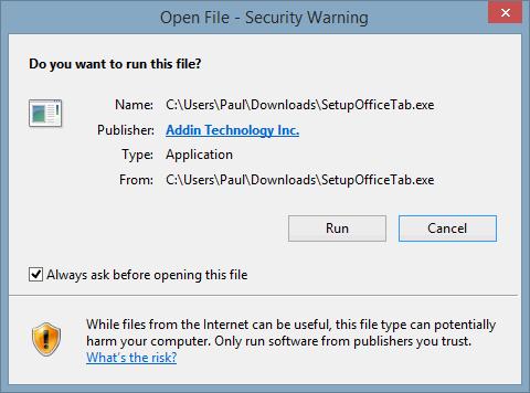 OTA-Installer-RunWarning