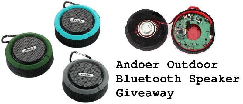 Andoer Durable Outdoor Bluetooth Speaker Review