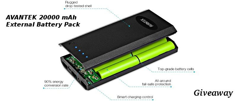 Avantek 20,000 mAH External Battery Pack Review