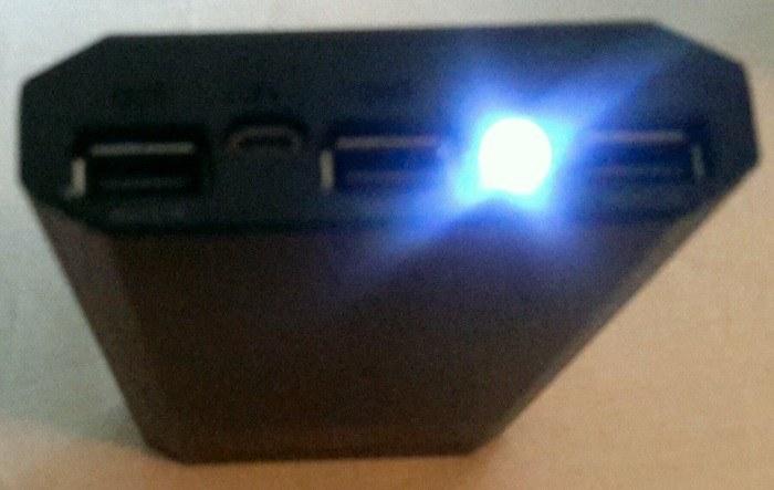 Avantek External Battery - LED Flashlight