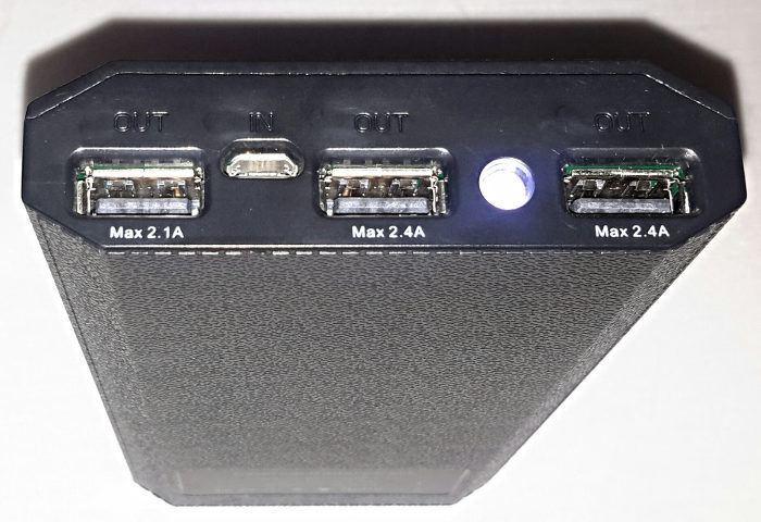 Avantek External Battery - Ports