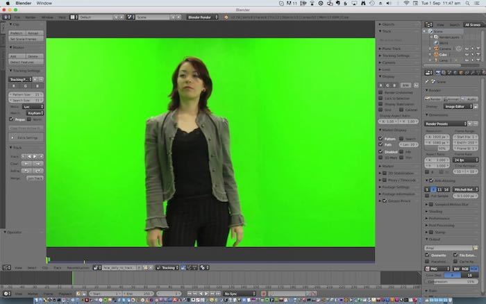 How to Add Green Screen Visual Effects with Blender - Make ...