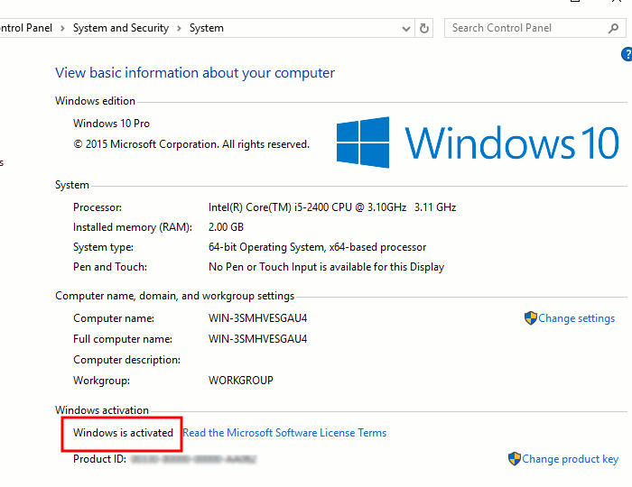 check windows 10 activation status cmd