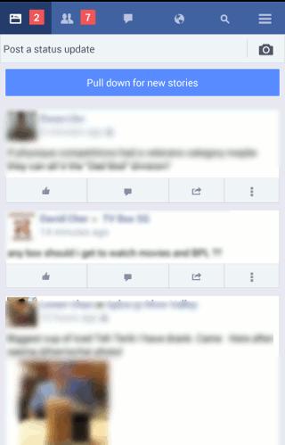 facebook-lite-interface