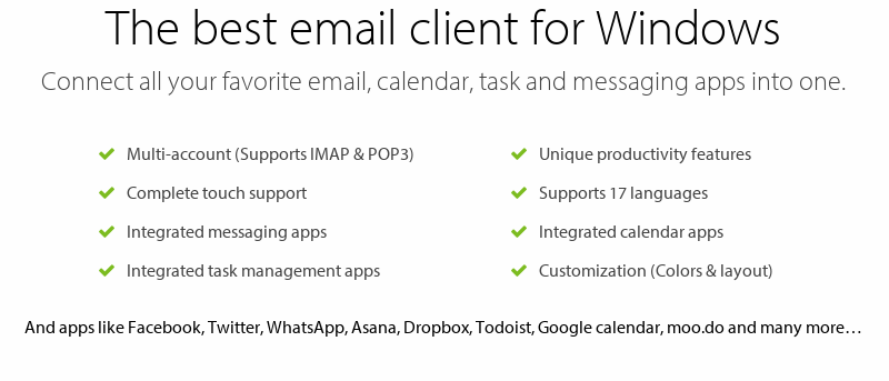 MailBird: The Great Alternative to Microsoft Outlook