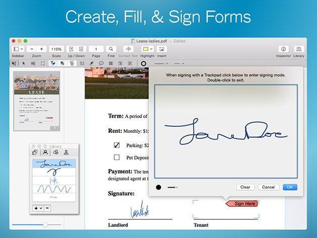 PDFpen 7: All-Purpose PDF Editor for Mac