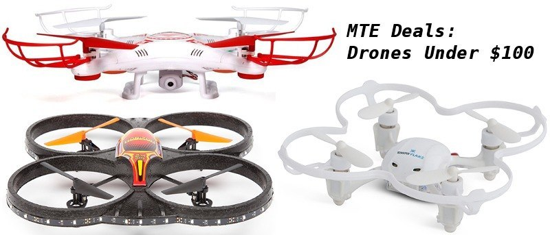 MTE Deals: Affordable Drones Under $100 for Outdoor Fun