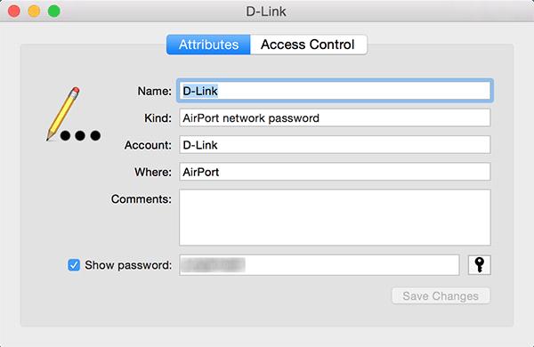 wifikeychain-password