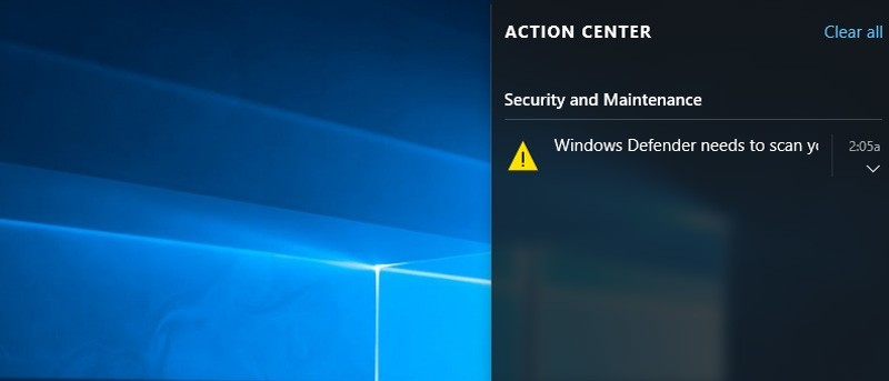 How to Disable Action Center in Windows 10