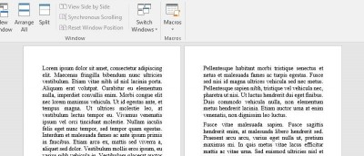 How to Display One Page at a Time in Microsoft Word at Any Resolution