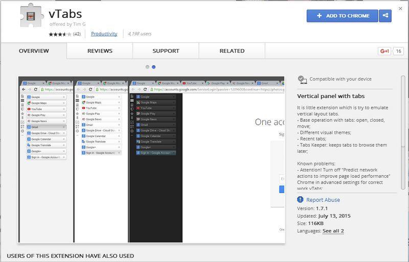 Vertab-Chrome-Webstore