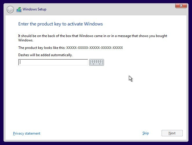about-win10-activation-skip-product-key