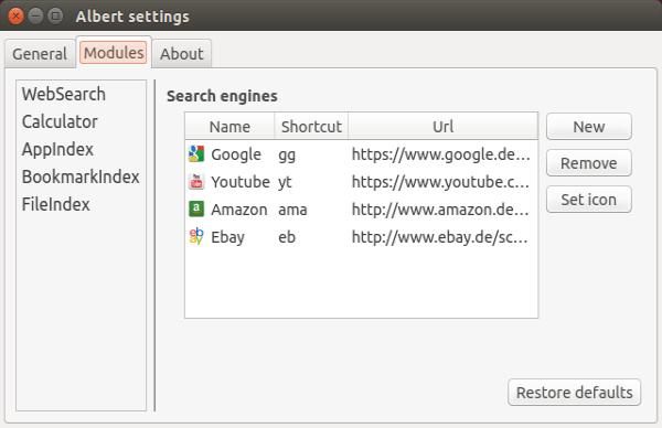 albert-settings-module