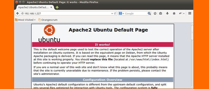 Securing Apache on Ubuntu – Part 2
