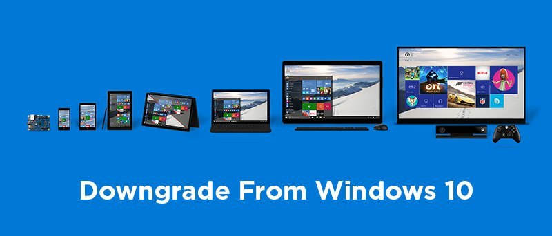 How to Downgrade from Windows 10 to an Earlier Version of Windows