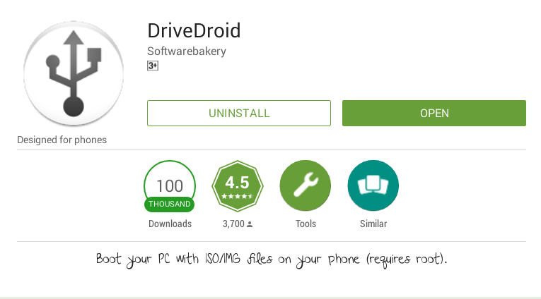 drivedroid-installation