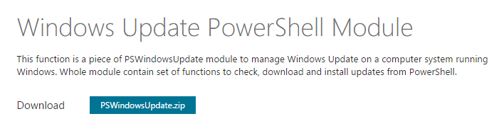 powershell-download-pswindowsupdate