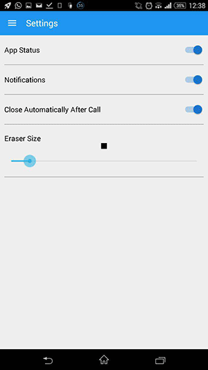 callwriter-settings