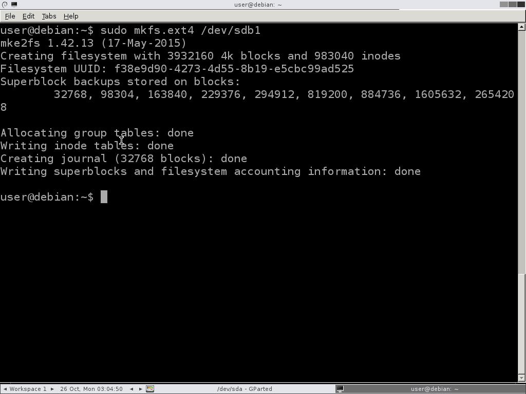 cfdisk-mkfs-make-file-system-ext4