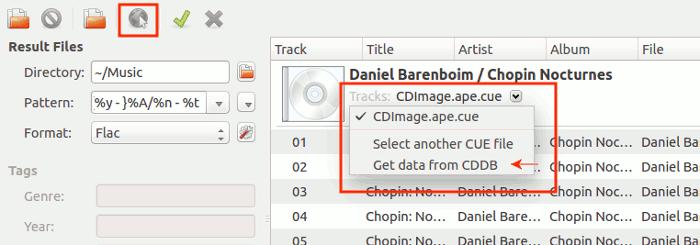 flacon-get-cddb-data
