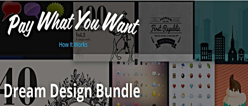 Pay What You Want For the Dream Design Bundle