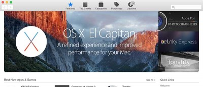 How to Hide the OS X El Capitan Update Banner in the Mac App Store