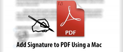 How to Add Your Signature to a PDF File on Your Mac