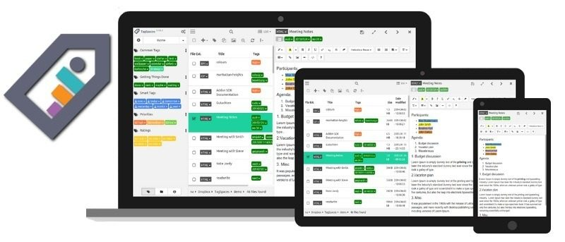 Tagspaces, An Offline Personal File Organiser