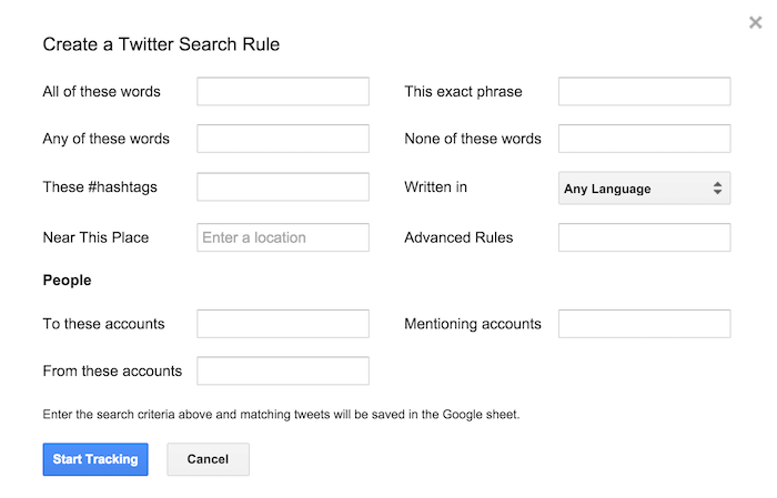 twitter-archiver-search-rule