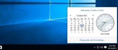 How to Bring Back Old Clock in Windows 10