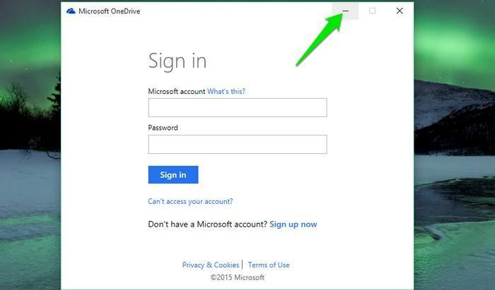 OneDrive-Sign-in-window