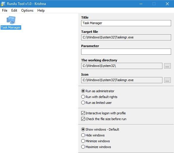 RunAsTool-drag-and-drop-application