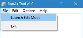 RunAsTool-launch-edit-mode