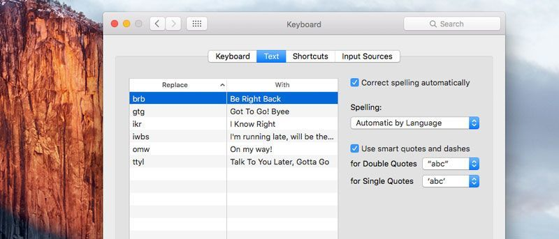 Using Text Shortcuts on Your Mac