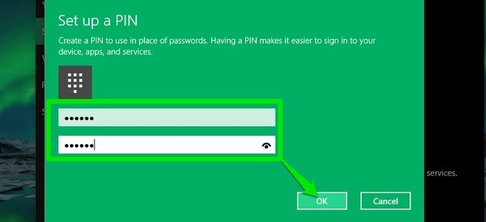 Windows 10-Enter-the-PIN